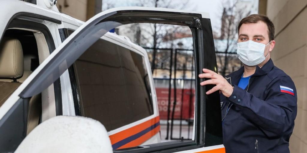 В Департаменте ГОЧСиПБ определен лучший водитель оперативного автомобиля