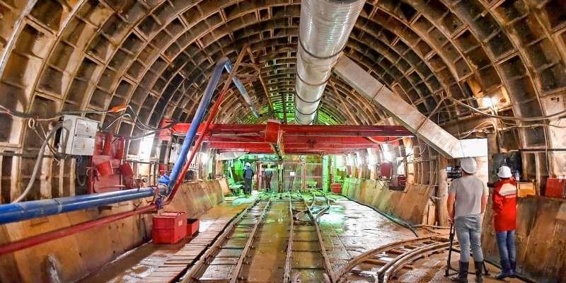 Собянин: западный участок большого кольца сделает метро ближе для 530 тысяч человек